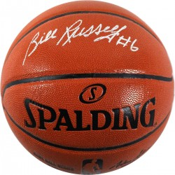 Steiner Sports - RUSSBKS000007 - Bill Russell Signed Indoor/Outdoor Basketball Hollywood Collectibles Auth