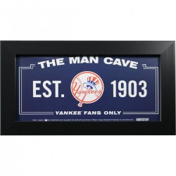 Steiner Sports - YANKPHA006008 - New York Yankees 6x12 Man Cave Sign