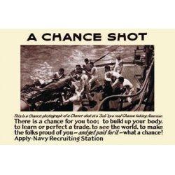 Buyenlarge - 22086-4CG12 - A chance shot 12x18 Giclee on canvas