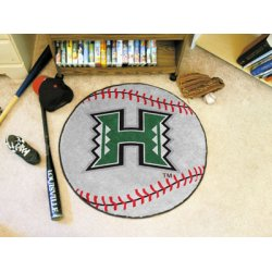 Fanmats - 841 - University of Hawaii Baseball Mat 27 diameter