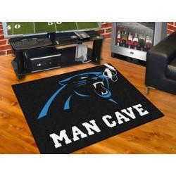 Fanmats - 14276 - Carolina Panthers Man Cave All-Star Mat 33.75x42.5