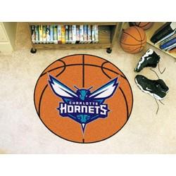 Fanmats - 10219 - NBA - Charlotte Hornets Basketball Mat 27 diameter