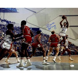 Steiner Sports - BINGPHS016001 - Dave Bing Signed Shooting over Chicago Bulls 16x20 Photo