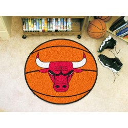 Fanmats - 10218 - NBA - Chicago Bulls Basketball Mat 27 diameter