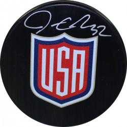 Steiner Sports - QUICPUS000012 - Jonathan Quick Signed USA World Cup 2016 Puck