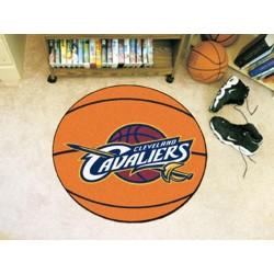 Fanmats - 10217 - NBA - Cleveland Cavaliers Basketball Mat 27 diameter