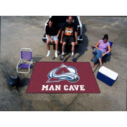 Fanmats - 14415 - Colorado Avalanche Man Cave UltiMat Rug 5x8