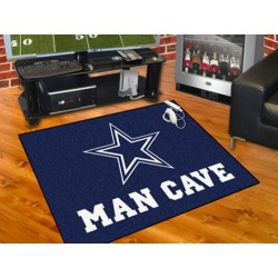 Fanmats - 14292 - Dallas Cowboys Man Cave All-Star Mat 33.75x42.5
