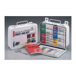 First Aid Only - 280-U-FAO - Pool & Lifeguard kit- 16 unit- 99 piece- metal case w/ gasket- 1 ea.