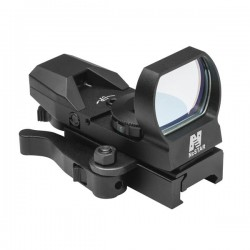 NcSTAR - D4BQ - NcStar D4BQ Quick Release Multi-Reticle Red Dot Reflex Sight, Black