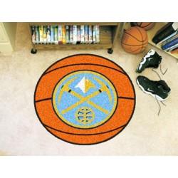 Fanmats - 10215 - NBA - Denver Nuggets Basketball Mat 27 diameter