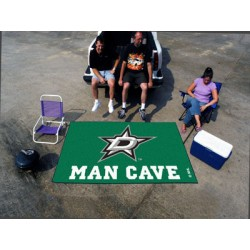 Fanmats - 14423 - Dallas Stars Man Cave UltiMat Rug 5x8