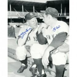 Steiner Sports - BERRPHS016011 - Yogi Berra & Whitey Ford Signed 16x20 Photo