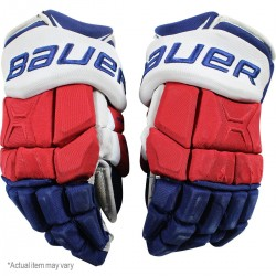Steiner Sports - 1617NYRGLU000015 - Dan Girardi New York Rangers 2016-17 Season Game Used nbr5 Bauer Gloves