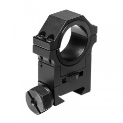 NcSTAR - RAH24 - NcStar RAH24 30mm Adjustable Height Split Optics Ring w/ 1-Inch Insert