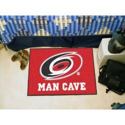 Fanmats - 14406 - Carolina Hurricanes Man Cave Starter Rug 19x30