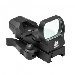 NcSTAR - DX4BLQ - NcStar Rogue Reflex Sight/4 Different Rogue Reticles/Blue/Quick Release Mount/Black