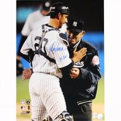 Steiner Sports - BERRPHS016007 - Yogi Berra and Jorge Posada Dual Signed Vertical 16x20 Photo (MLB Auth)