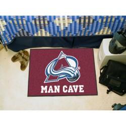 Fanmats - 14414 - Colorado Avalanche Man Cave Starter Rug 19x30