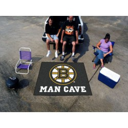 Fanmats - 14396 - Boston Bruins Man Cave Tailgater Rug 5x6