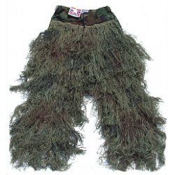 GhillieSuits - G-BDU-P-LEAFY-SMALL - Ghillie Suit Pants Leafy Small