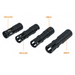 NcSTAR - AMB14 - NcStar Mini 14 Muzzle Brake Black