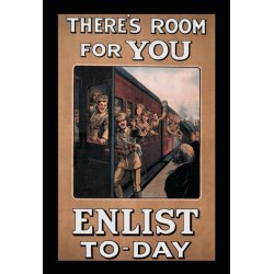 Buyenlarge - 07741-7CG28 - There's Room for You: Enlist Today 28x42 Giclee on Canvas