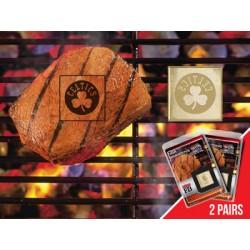 Fanmats - 13179 - NBA - Boston Celtics Fanbrand 2 Pack