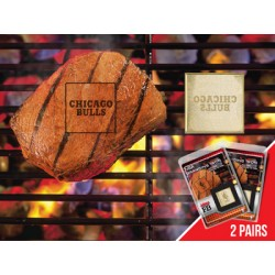 Fanmats - 13178 - NBA - Chicago Bulls Fanbrand 2 Pack