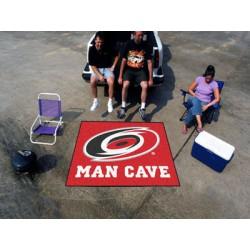 Fanmats - 14408 - Carolina Hurricanes Man Cave Tailgater Rug 5x6