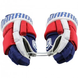 Steiner Sports - 1617NYRGLU000022 - Nick Holden New York Rangers 2016-17 Season Game Used nbr22 Warrior Gloves