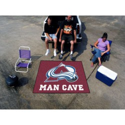 Fanmats - 14416 - Colorado Avalanche Man Cave Tailgater Rug 5x6