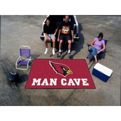 Fanmats - 14262 - NFL - Arizona Cardinals Man Cave UltiMat Rug 5x8