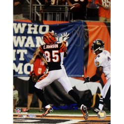 Steiner Sports - JOHNPHS011000 - Chad Johnson Touchdown vs Ravens 11x14 Photo