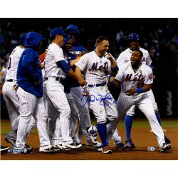 Steiner Sports - WRIGPHS016024 - David Wright Signed Celebration After Walk Off vs Brewers 16x20 Photo MLB Auth