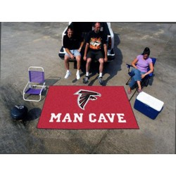 Fanmats - 14266 - NFL - Atlanta Falcons Man Cave UltiMat Rug 5x8