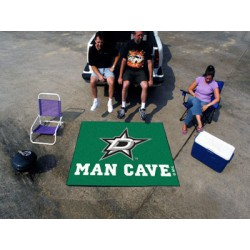 Fanmats - 14424 - Dallas Stars Man Cave Tailgater Rug 5x6