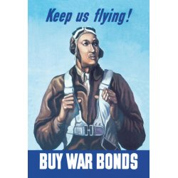 Buyenlarge - 01555-1P2030 - Keep Us Flying - Buy War Bonds 20x30 poster
