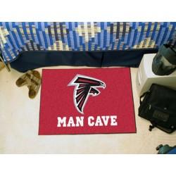 Fanmats - 14265 - NFL - Atlanta Falcons Man Cave Starter Rug 19x30