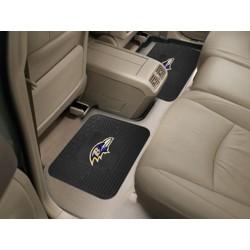 Fanmats - 12305 - Baltimore Ravens Backseat Utility Mats 2 Pack 14x17