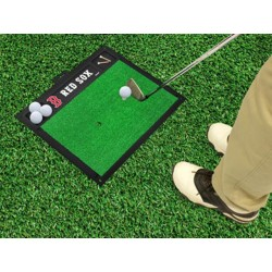 Fanmats - 15433 - Boston Red Sox Golf Hitting Mat 20 x 17