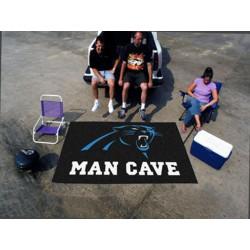 Fanmats - 14278 - Carolina Panthers Man Cave UltiMat Rug 5x8