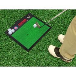 Fanmats - 15434 - Chicago Cubs Golf Hitting Mat 20 x 17