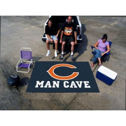 Fanmats - 14282 - Chicago Bears Man Cave UltiMat Rug 5x8
