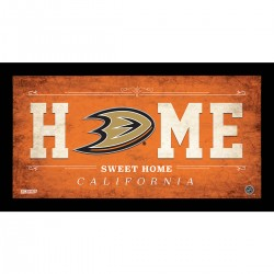Steiner Sports - DUCKPHA006003 - Anaheim Ducks 6x12 Home Sweet Home Sign