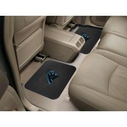 Fanmats - 12352 - Carolina Panthers Backseat Utility Mats 2 Pack 14x17