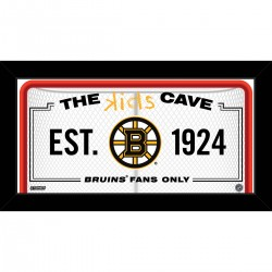 Steiner Sports - BRUIPHA006004 - Boston Bruins 6x12 Kids Cave Sign