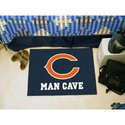 Fanmats - 14281 - Chicago Bears Man Cave Starter Rug 19x30