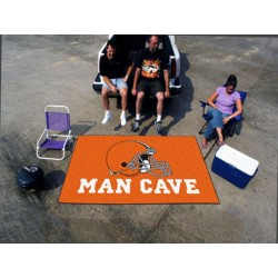 Fanmats - 14290 - Cleveland Browns Man Cave UltiMat Rug 5x8