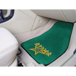 Fanmats - 10639 - Dallas Stars 2-pc Printed Carpet Car Mats 17x27